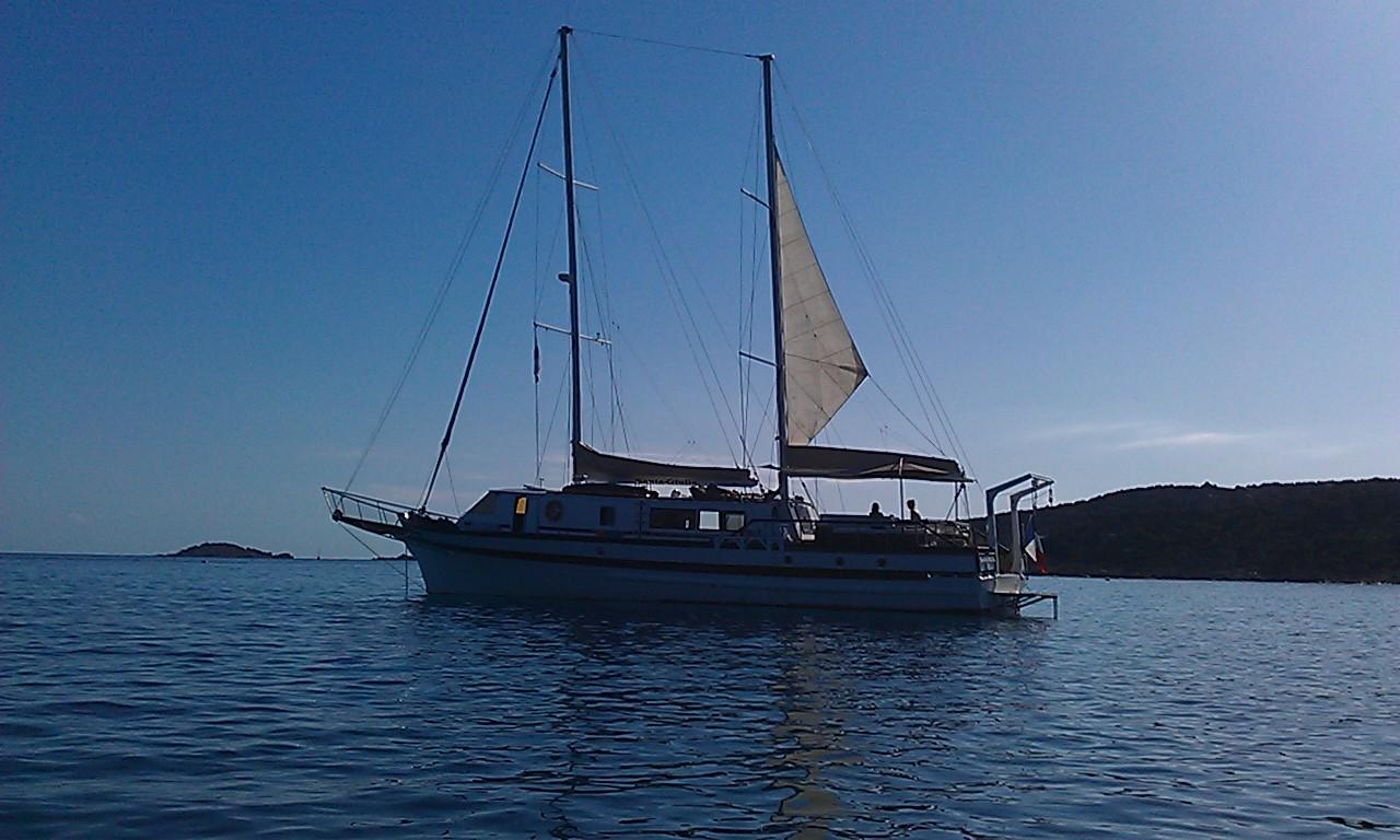 santa giulia bateau croisiere vacances corse